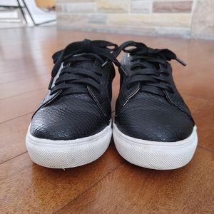 Christian Lacroix black snake Enrica sneakers 8